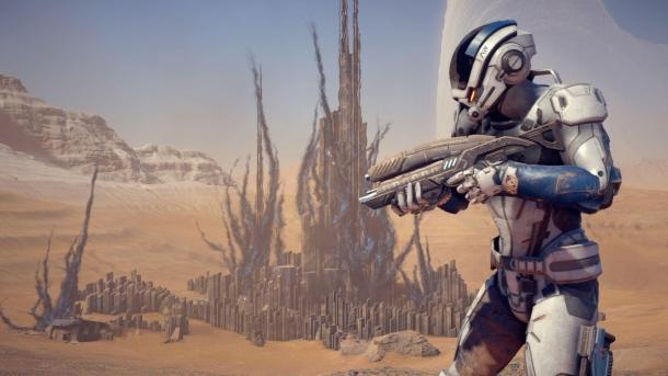 Скриншоты из игры Mass Effect: Andromeda Mass Effect: Andromeda