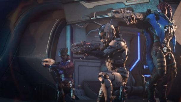 10 минут из мультиплеера Mass Effect: Andromeda Mass Effect: Andromeda
